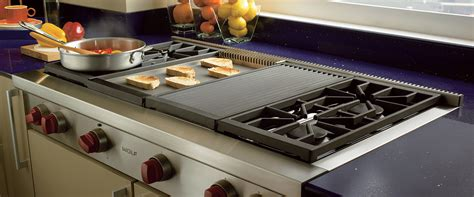 Thermador Cooktop With Griddle 1219mm Sealed Burner Rangetop 4 Burners Charbroiler
