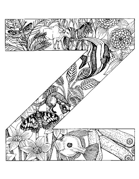 animal alphabet coloring pages a z free coloring pages of letter s of design