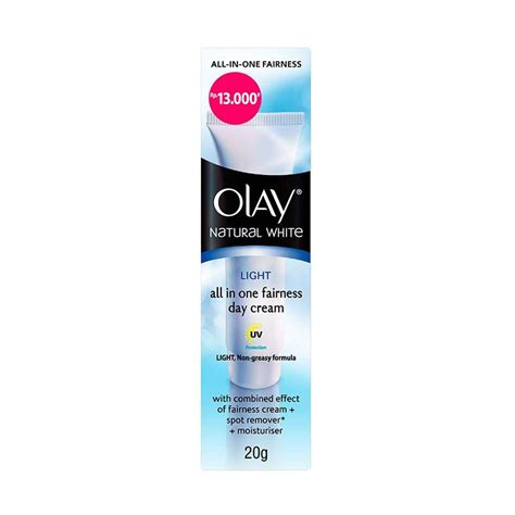 Produk Olay White jual olay white light all in one fairness day 20 g harga kualitas