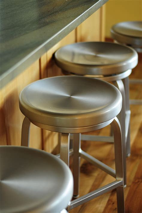 portland metal bar stools metal stools at the island kitchen portland by julie