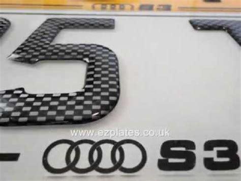 Neues Auto Kennzeichen Behalten by Show Number Plate 3d Gel Fonts By Www Ezplates Co Uk