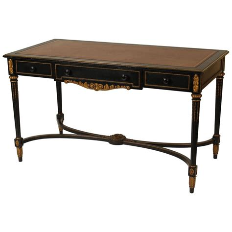 Leather Top For Desk by Louis Xvi Style Leather Top Desk For Sale At 1stdibs