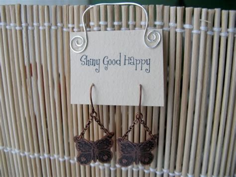 make your own earring cards shiny happy make your own cool earring cards