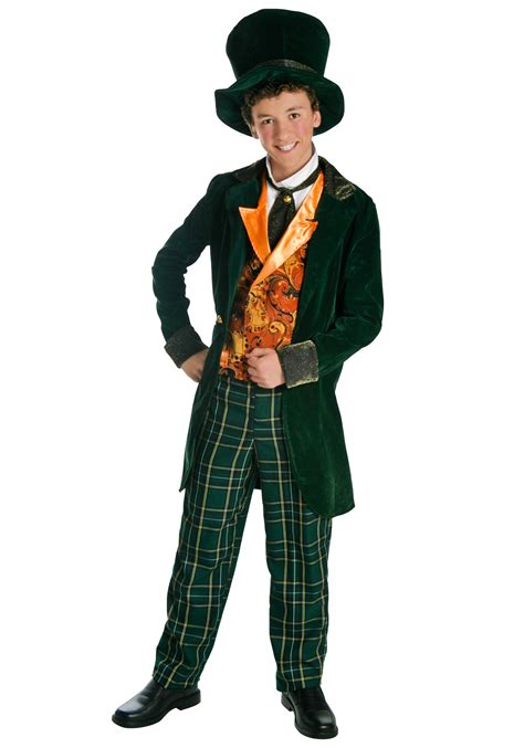 mad for deluxe teen mad hatter costume