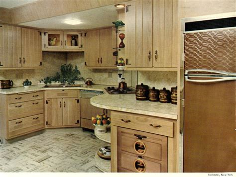 vintage cabinets kitchen wood mode kitchens from 1961 slide show of 15 photos