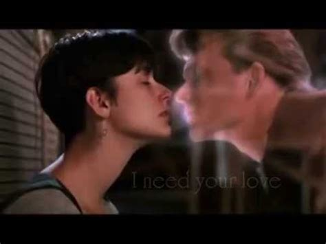 film ghost lyrics unchained melody theme from quot ghost quot movie lyrics youtube