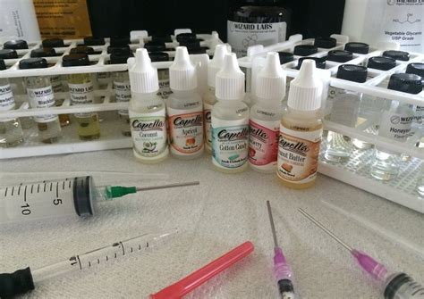 diy e juice nicotine study finds that some diy juice flavorings contain nicotine