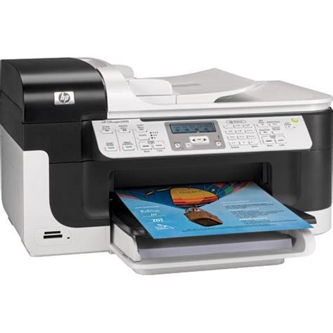Printer Hp Officejet 6500 hp officejet 6500 wired all in one printer cb815a b1h b h photo
