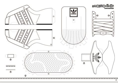 adidas shoe template the gallery for gt blank shoe template adidas