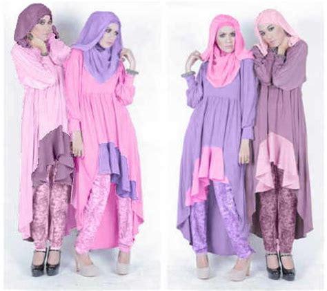 Gamis Remaja Warna Ungu baju dan busana muslim modern terbaru tips