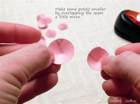 How To Make Paper Petals - how to make paper flowers creatively southern