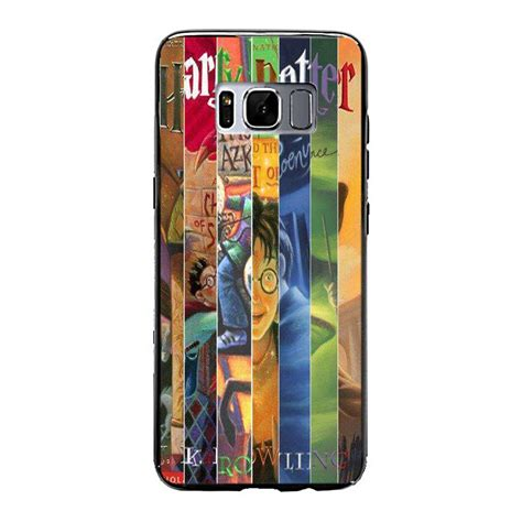 Harry Potter All Book Cases Samsung Galaxy Iphone Xperia Cases harry potter all books samsung galaxy s8 yukitacase