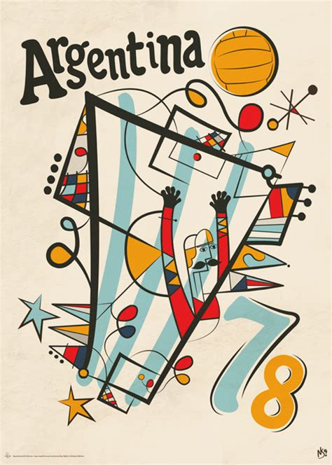 Pensil Alis Fifa vintage world cup by neil via behance graphic