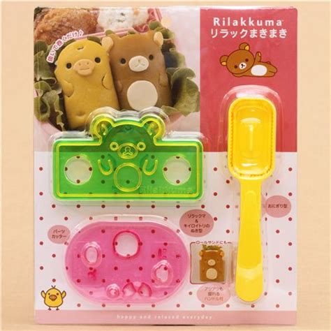 Rilakkuma Rice Set 30 rilakkuma bento rice decoration set san x japan bento accessories bento