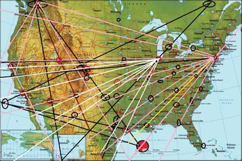 map usa ley lines magnetic ley lines in america is chicago intended to be