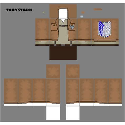 Kaos Attack On Titan Recon Corps attack on titan recon corps shirt roblox