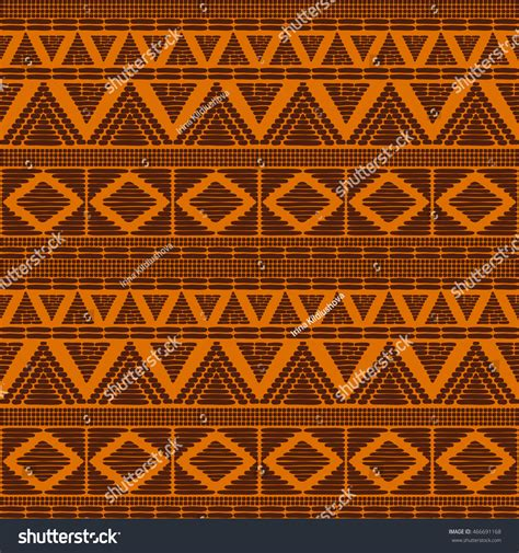 african vector pattern eps tribal pattern vector seamless african print stock vector