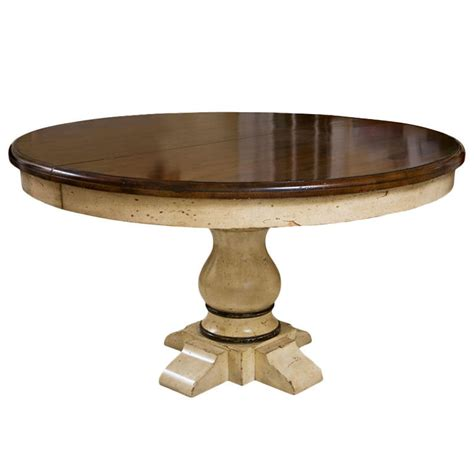 Pedestal Dining Tables With Extension pedestal extension dining table at 1stdibs