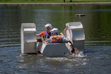 cardboard boat race awards 12may17 cardboard boat race team volunteer
