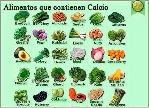 alimentos que contengan mucho calcio alimentos que contienen calcio salud pinterest