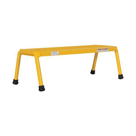 Osha Compliant Step Stool by Osha Compliant Step Stools Ladders The Home Depot