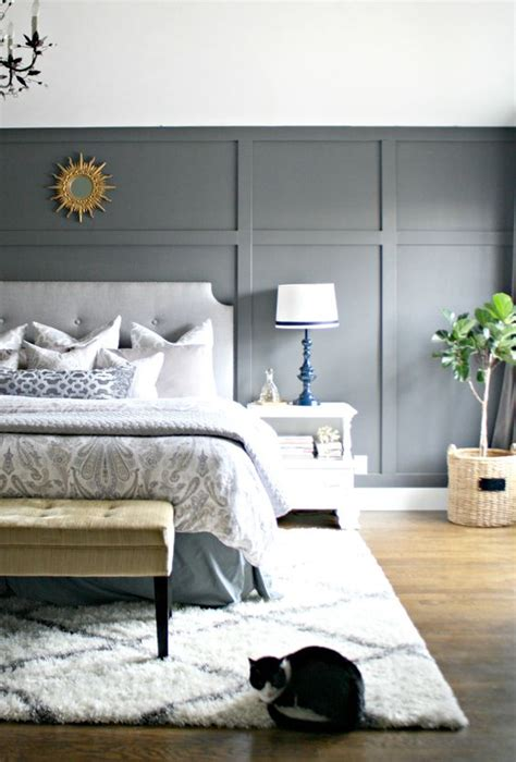 dark gray accent wall from thrifty decor chick gray accent walls focal wall and accent walls on pinterest