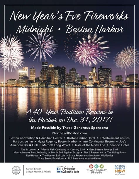 new year celebration pdf new year s on the waterfront 2018 boston harbor now