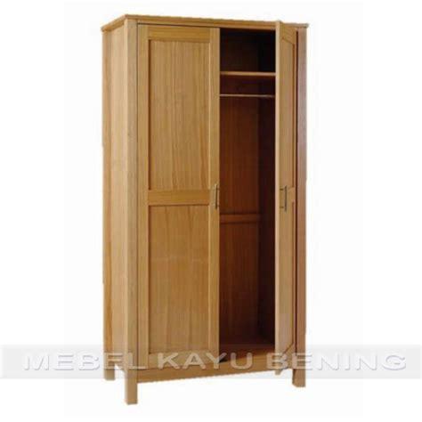 Daftar Lemari Pakaian Di Hypermart lemari pakaian 2 pintu model minimalis kblm 012