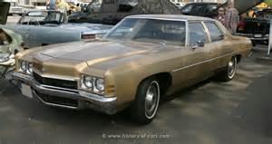 1972 Chevrolet Impala Chevrolet 1972 Impala 4door Sedan The History Of Cars