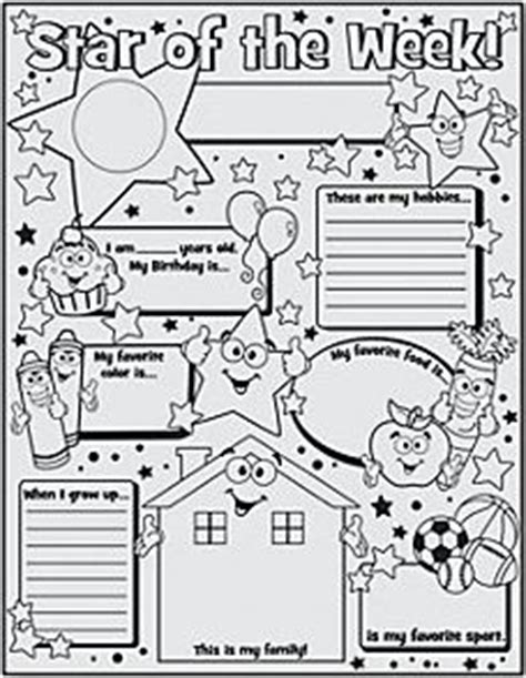 printable star of the week form 1000 images about star student on pinterest teaching