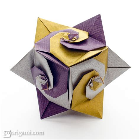 origami spirals gallery go origami