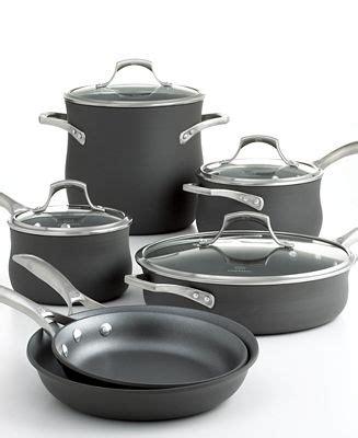 calphalon kitchen essentials induction closeout calphalon unison nonstick 10 cookware set cookware cookware sets kitchen