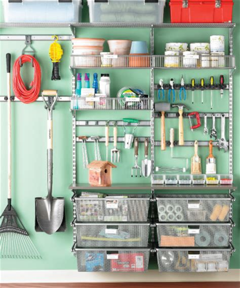 Garage Organization Rogers Herramientas Yardas And Garaje On