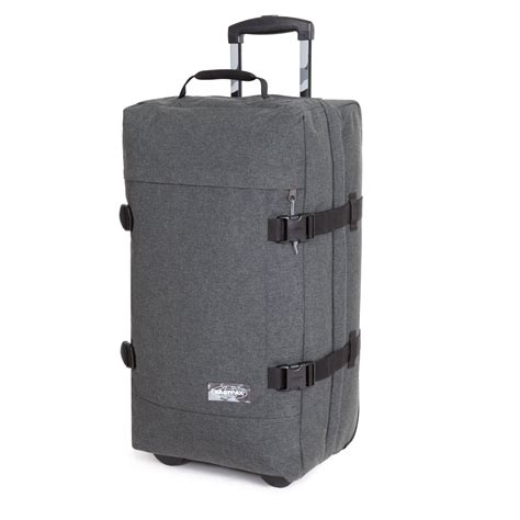 eastpak cabin luggage eastpak transfer multicolor cabin luggage