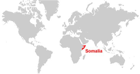 somalia on world map somalia map and satellite image
