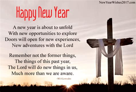 religion of new year beautiful happy new year poems in for family