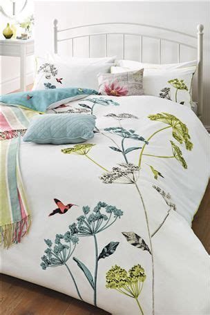 hummingbird print bed set next home pinterest