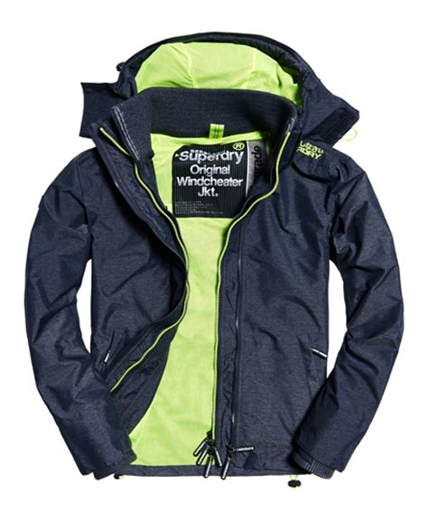 Jaket Windcheater City 1 superdry pop zip hooded technical windcheater jacket s jackets