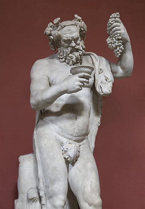 Dionysus Greek God Statue by Silenus Roman God Of Wine Photograph By Sheila Terry