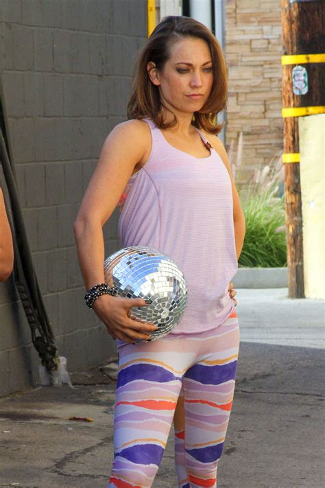House Measurements by Ginger Zee In Tights At Dwts Studio 04 Gotceleb