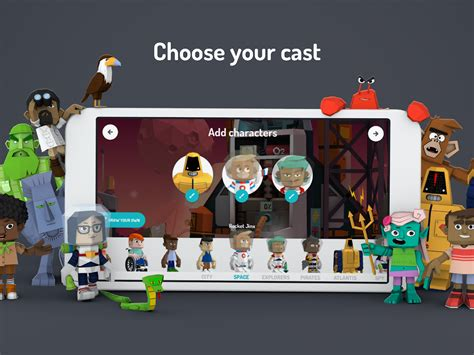 3d app android toontastic 3d android apps on play