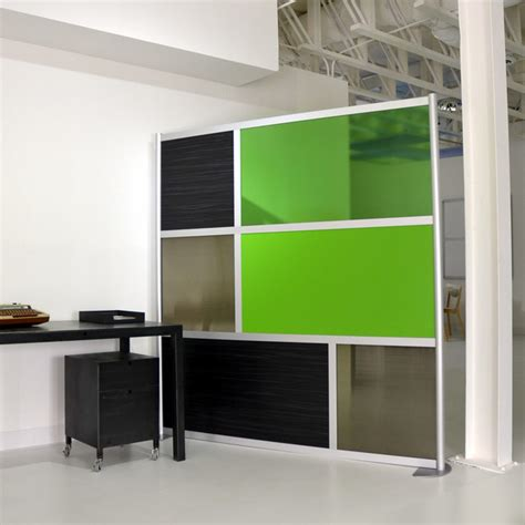 office wall dividers 6 modern divider green translucent modern home