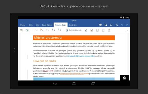 microsoft word android microsoft word indir android android i 231 in word a 231 ma ve d 252 zenleme uygulaması