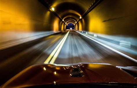imagenes de web tunnel the high road tunnel vision in a 2014 jaguar f type driving