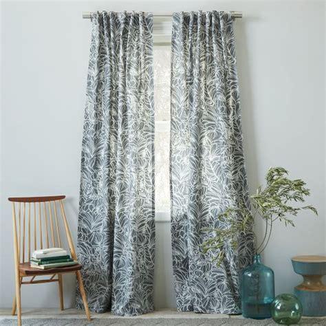 west elm curtains sale cotton canvas printed curtain sketch west elm