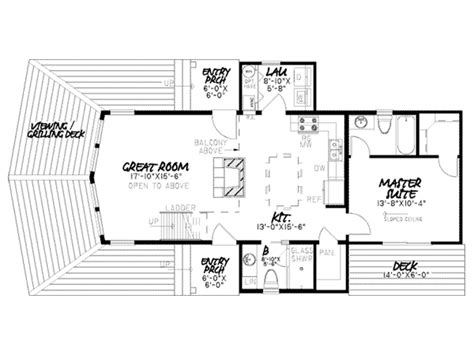 scenic retreat vacation home plan 155d 0012 house plans