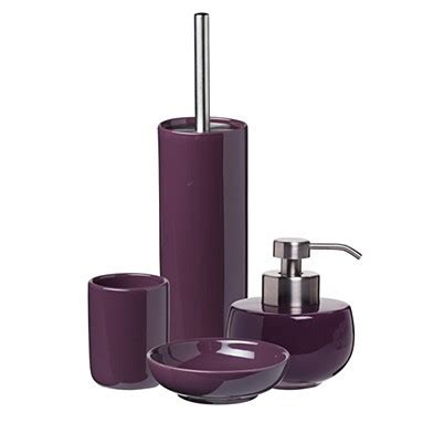 plum bathroom accessories plum color bathromm accessories dark brown hairs