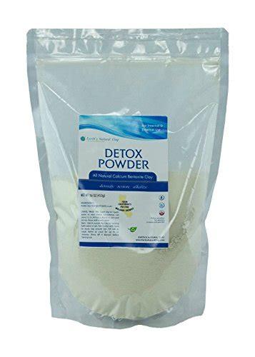 Calcium Bentonite Clay Detox Reviews by Earth S Living Calcium Bentonite Montmorillonite Powder