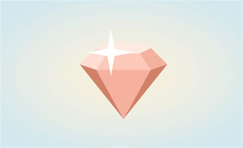 design icon in sketch sketch tutorial how to design a 3d diamond icon in 10 min