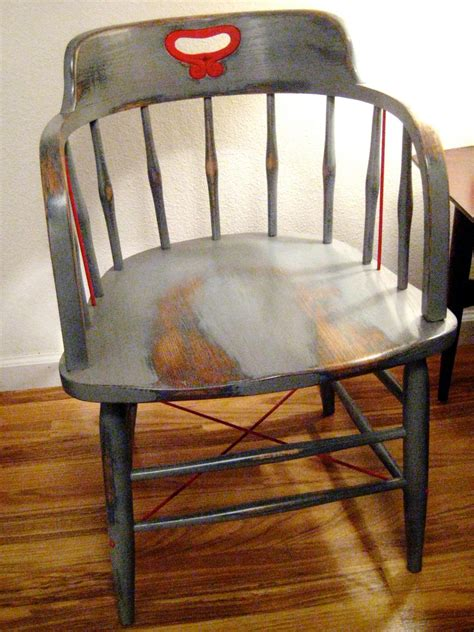 Refinish Chairs How To Paint Wood Furniture With An Aged Look How Tos Diy